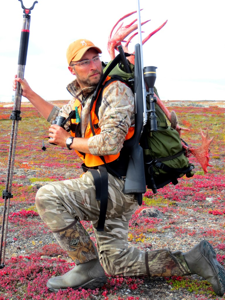 Adrian Skok Caribou Hunting in Manitoba Canada