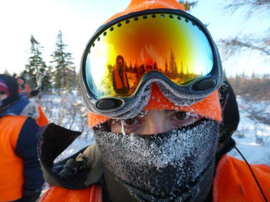 Manitoba Moose Hunt Reflection