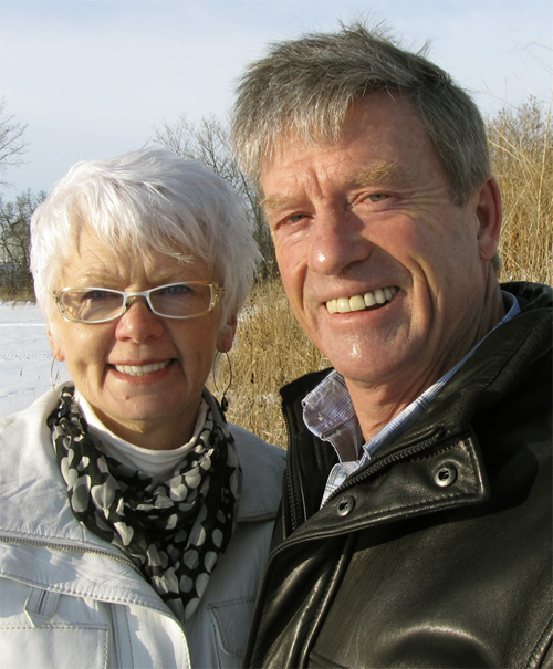 Webber's Lodges founders Doug and Helen Webber.