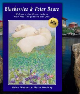 Blueberries & Polar Bears Cookbooks.